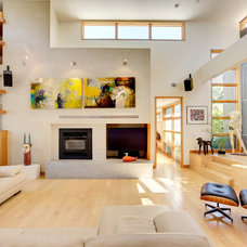 Modern Living Room by Dave Adams Photography