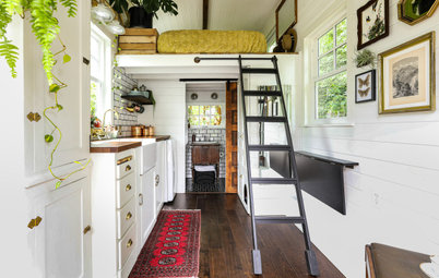 Houzz Tour: A Tiny House Full of Ingenious Space-saving Ideas