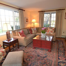 Traditional Living Room by Sweetwater Design