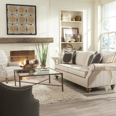 Contemporary Living Room by Furnitureland South