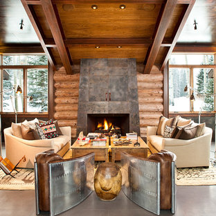 Cozy Mountain Living Room