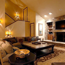 Traditional Living Room by Tanya Simpson Miller  Design