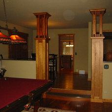 Traditional Living Room by Billet LLC- Billet General Construction
