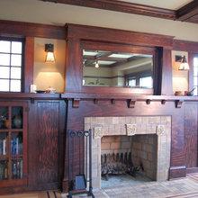 craftsman fireplace