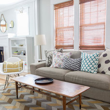 Craftsman Living Room by Rachel Grace