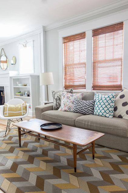 Craftsman Living Room by Rachel Grace