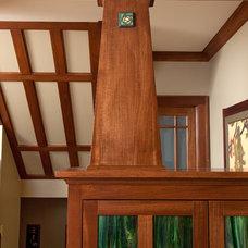 Craftsman Living Room by Andrew Melaragno