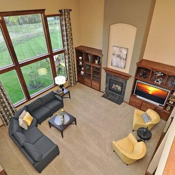 Craftsman Home With Indoor Sports Court