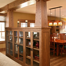 Craftsman Living Room by Copper Creek, LLC