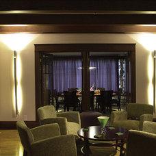 Craftsman Living Room by HartmanBaldwin Design/Build