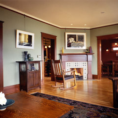 traditional living room by knowles ps