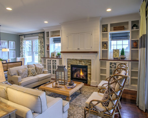 Hidden Tv Over Fireplace Houzz