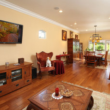 Craftsman Living Room by THE KITCHEN LADY, Enriching Homes With Style