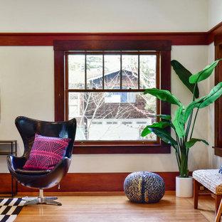 Living room - craftsman living room idea in San Francisco