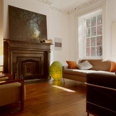 Contemporary Living Room by Zakrzewski + Hyde Architects