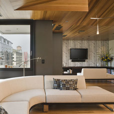 Contemporary Living Room by Giulietti Schouten Architects
