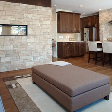 Modern Living Room by Ecostone Products