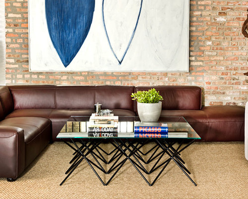 Save. Crawford Leather Sectional by Interior Define & Crawford Sectional by Interior Define
