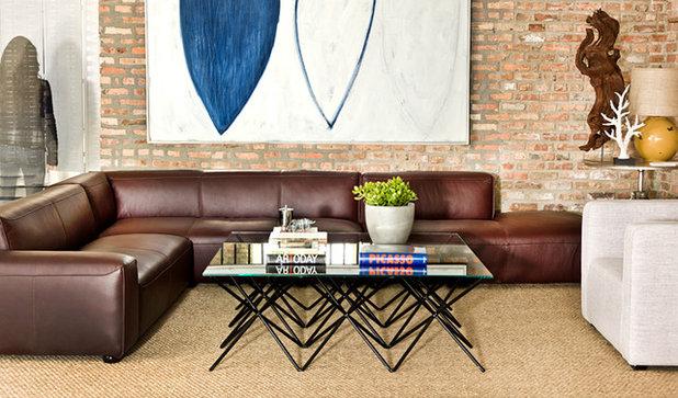 Contemporary Living Room by Interior Define