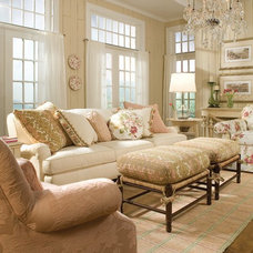 Traditional Living Room by Unique By Design Ltd.
