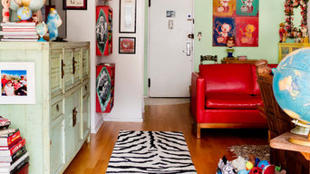 Creating Distictive Space Using Color (lots of color)
