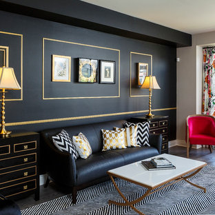 Black And Gold Living Room Ideas