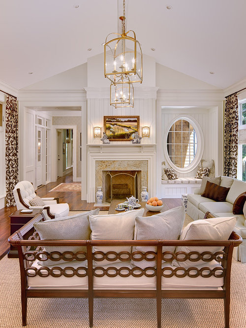 10 ft ceiling living design ideas renovations photos for Living room with 9 foot ceilings