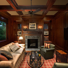 Traditional Living Room by The Anderson Studio of Architecture & Design