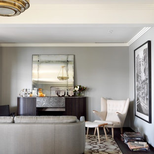 Masculine Living Room Houzz