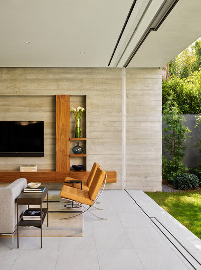 Contemporary Living Room by Ehrlich Yanai Rhee Chaney Architects