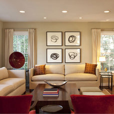Contemporary Living Room by Cynthia Marks - Interiors
