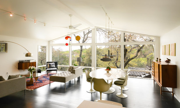 Midcentury Living Room by Chris Cobb Architecture