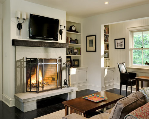 Wall Sconces Near Tv : Fireplace Sconce Home Design Ideas, Pictures, Remodel and Decor