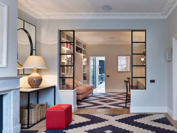 crittall style windows 10 stylish ideas for using them inside. Black Bedroom Furniture Sets. Home Design Ideas