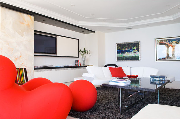 Contemporary Living Room by Pepe Calderin Design- Modern Interior Design