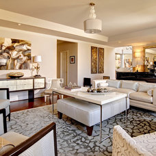 Contemporary Living Room by Teal Interior Design