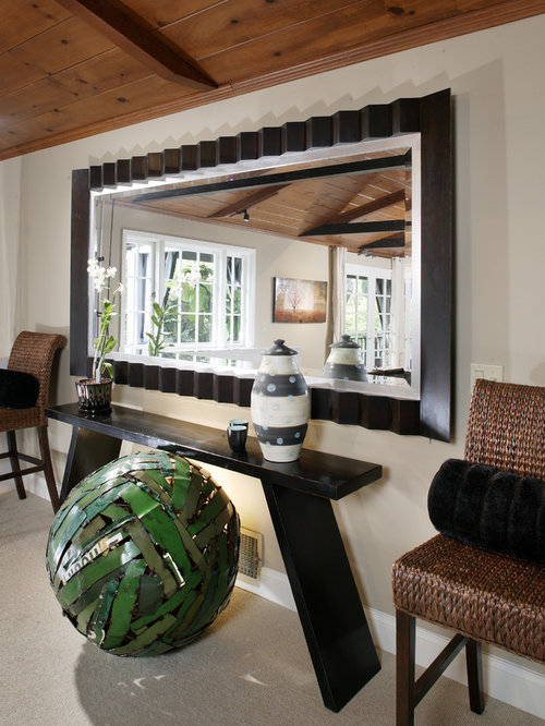 pictures of living room mirrored console table houzz 13550