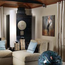 Contemporary Living Room by Benning Design Associates