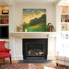 Traditional Living Room by Amy Koch Interiors