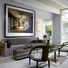 Eclectic Living Room by GATH Interior Design