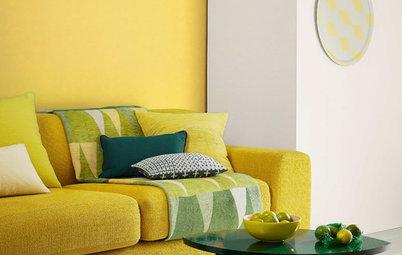 Vitamin C fürs Zuhause: Einrichten mit Gelb und Orange