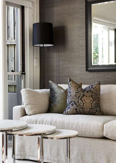 Contemporary Living Room By Angela Steyn Co Design