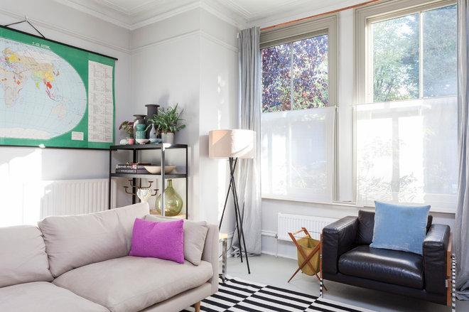 Scandinavian Living Room by Chris Snook