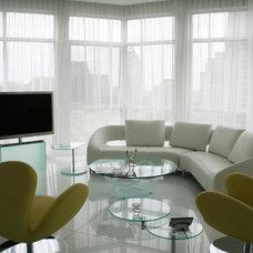 Contemporary Living Room by Studio NOO Design