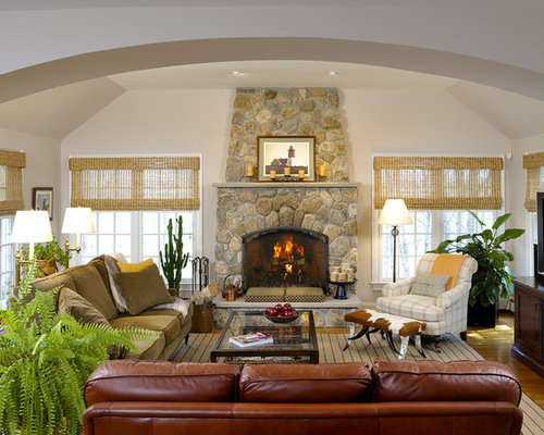 SaveEmail - Mixing Leather And Fabric Houzz