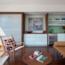 Modern Living Room by Demetriades + Walker