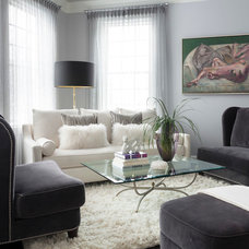 Modern Living Room by Susan Glick Interiors