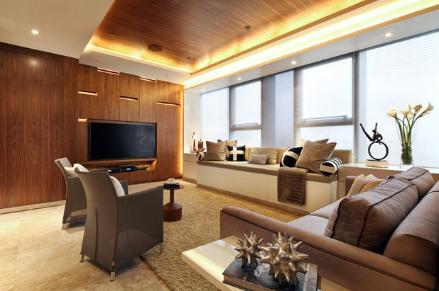 Contemporary Living Room by Designed Design Associates (DDA)