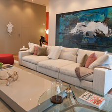 Contemporary Living Room by Ba Design Group