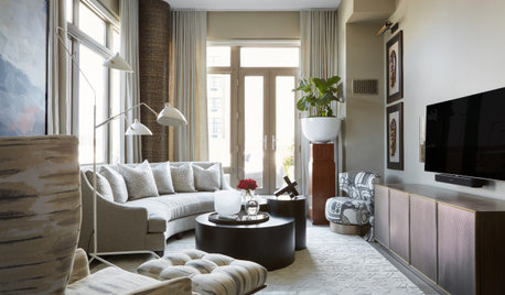 African Art and Textural Touches Infuse This Condo With Character